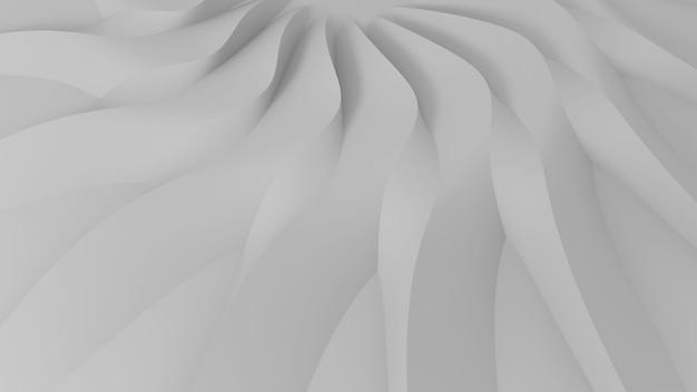 Moderne abstracte parametrische driedimensionale achtergrond