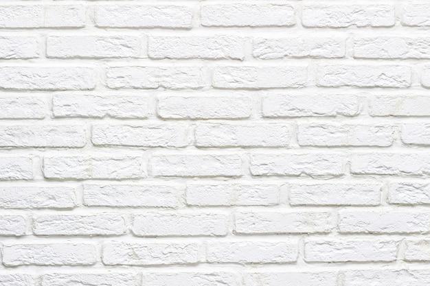 Moderne abstracte witte bakstenen muur gestructureerde achtergrond voor tekst of ontwerp. detailopname