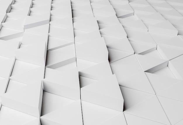 Moderne achtergrond met geometrische vormen Gratis Foto