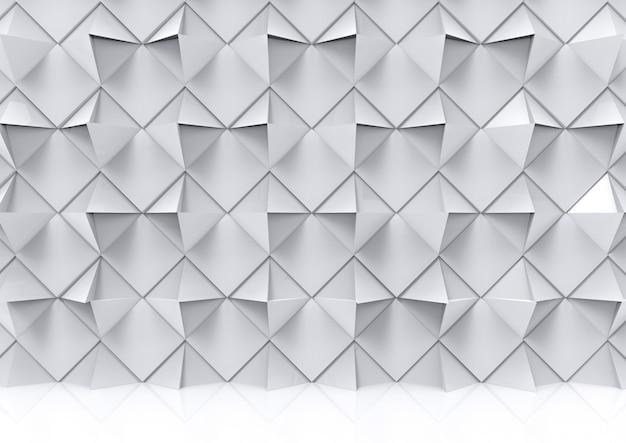 Moderne artistieke geometrische veelhoek vorm muur en vloer achtergrond.