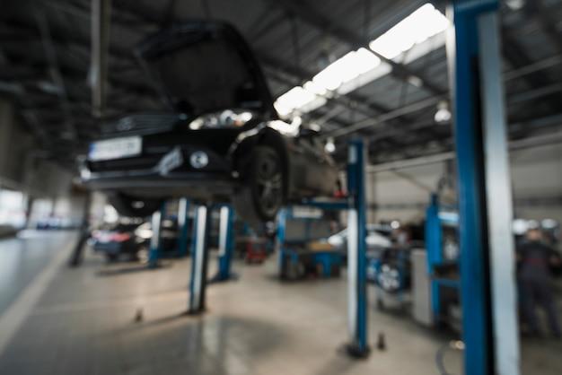 Moderne automobiele mechanische samenstelling