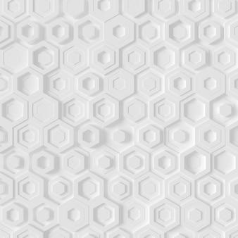 Moderne bakstenen muur. 3d-weergave