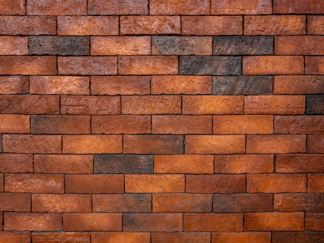moderne bakstenen muur.