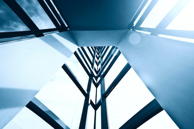 Moderne bedrijfsarchitectuur.
