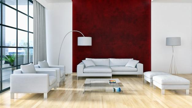 Moderne binnenruimte