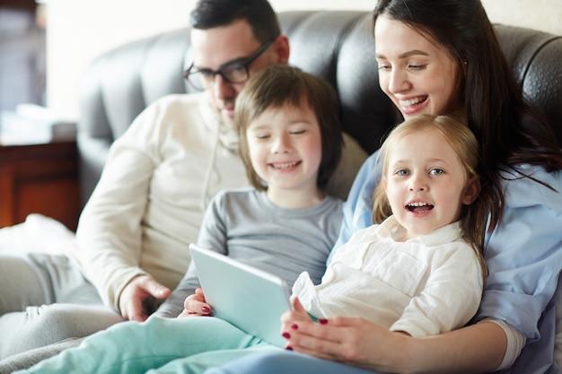 Moderne familie