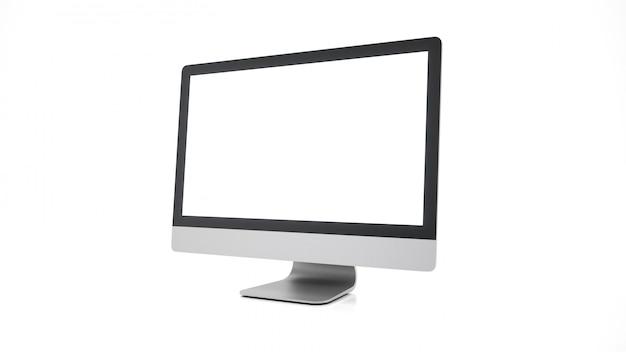 Moderne flatscreen computermonitor