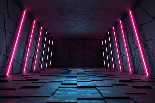 Moderne futuristische sci-fi-achtergrond