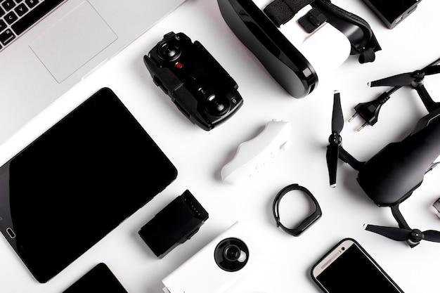 Moderne gadgets-elementen