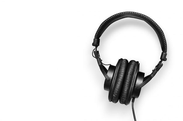 Moderne hoofdtelefoon geïsoleerd