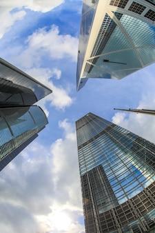 Moderne kantoorgebouwen