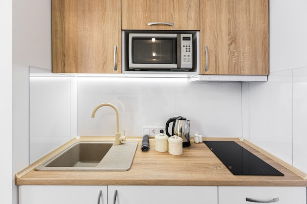 Moderne kleine keuken