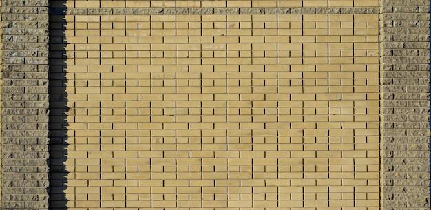 Moderne leisteen bakstenen muur textuur