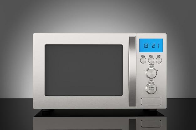 Moderne magnetron oven op tafel