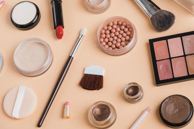 Moderne make-up samenstelling