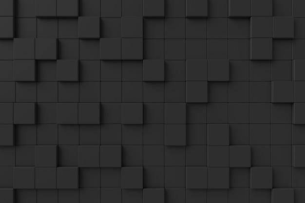 Moderne muur. 3d-rendering.