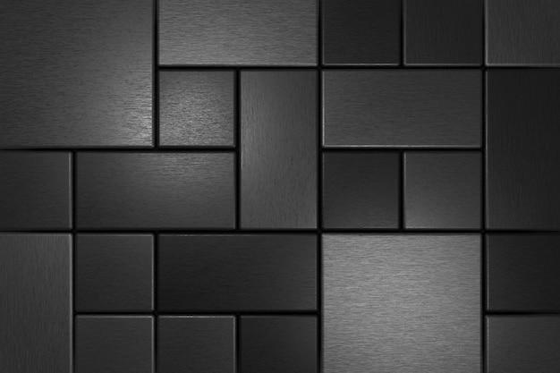 Moderne muur. 3d-weergave