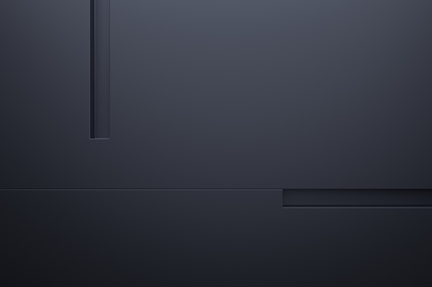 Moderne muur achtergrond. 3d-weergave