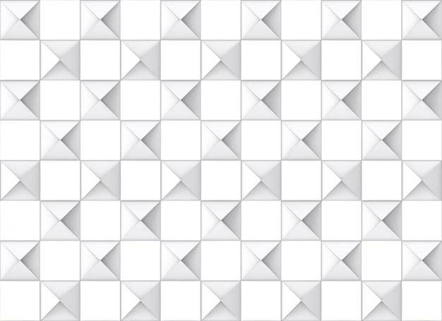 Moderne naadloze vierkante rooster patroon keramische tegels muur achtergrond.