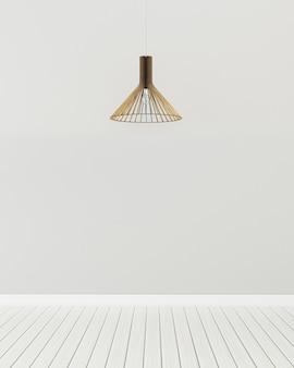 Moderne salon op zolder met houten plafond