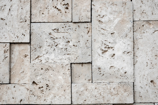 Moderne stijlvolle vierkante stenen oppervlakte achtergrond