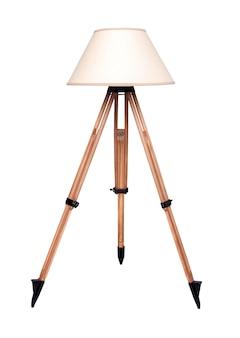 Moderne tafellamp geïsoleerd op wit.