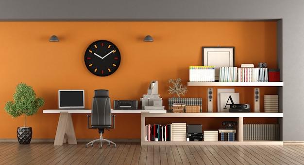 Moderne thuiswerkplek