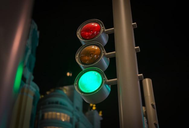 Moderne verkeerslichten