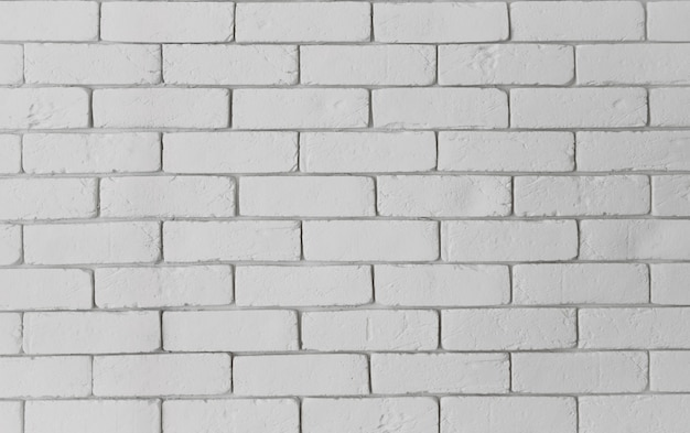Moderne witte bakstenen muurtextuur als achtergrond