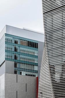 Moderne wolkenkrabbers in zakenwijk