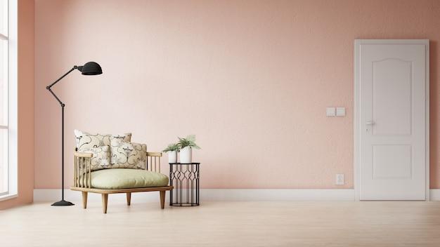 Moderne woonkamer met kleurrijke decoratie