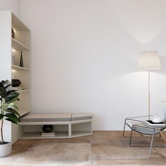Moderne woonkamer met meubels en andere decors