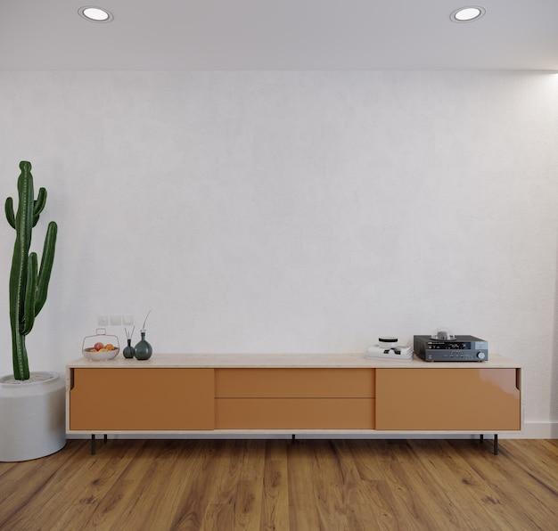 Moderne woonkamer met meubilair
