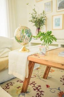 Moderne woonkamerdecoratie