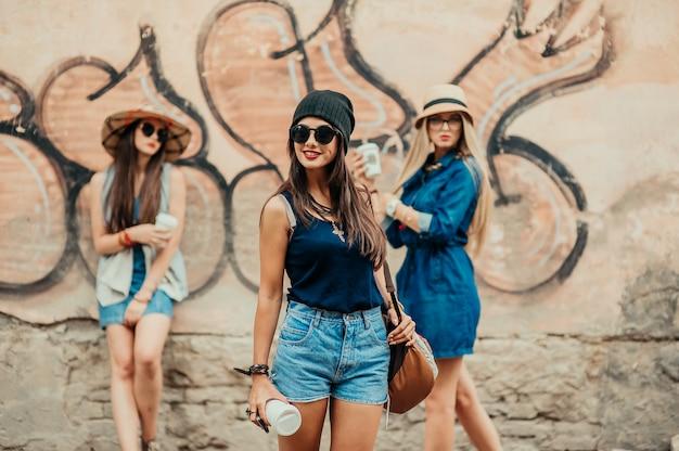 Modevrienden in de stad