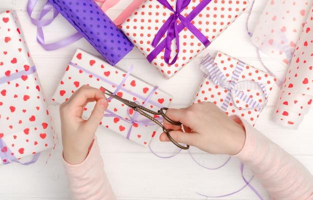 Moeder en dochter geschenken maken