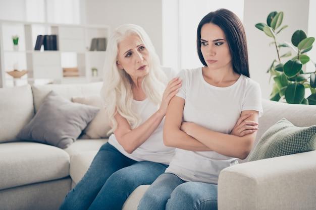 Moeder en dochter ruzie