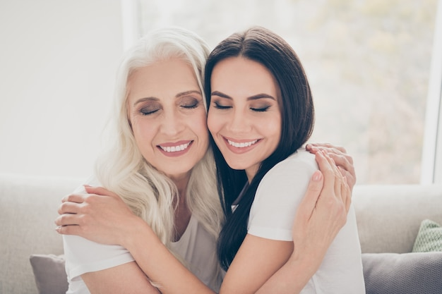 Moeder en dochter tijd samen doorbrengen