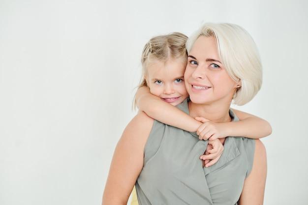 Moeder en dochtertje