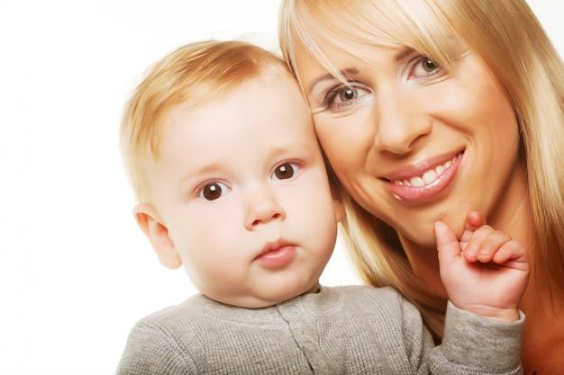 Moeder met de zoon