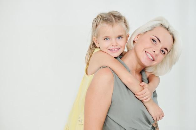 Moeder met dochtertje