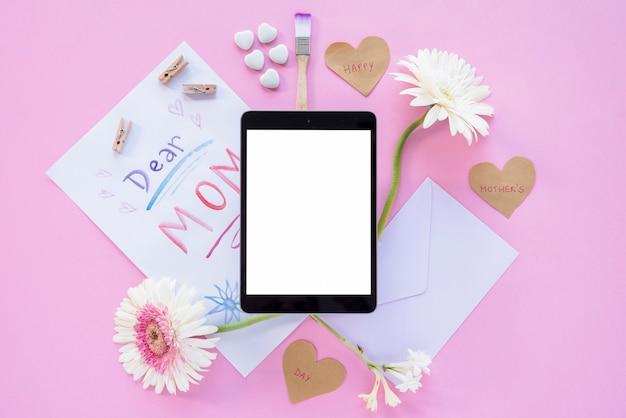 Moeder's dag frame tablet