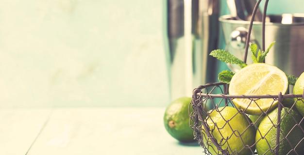 Mojito cocktail ingrediënten
