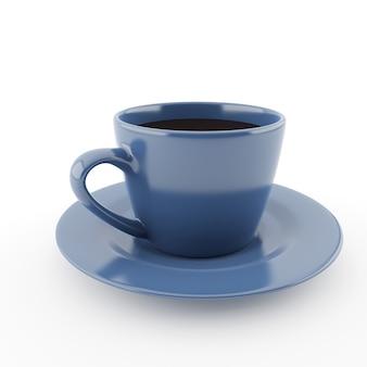 Mok koffie geïsoleerd
