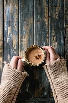 Mok warme chocolademelk