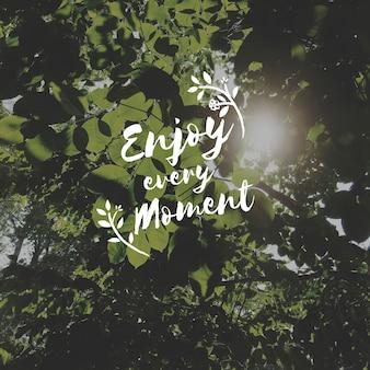 Moment kostbaar genieten delen inspireren