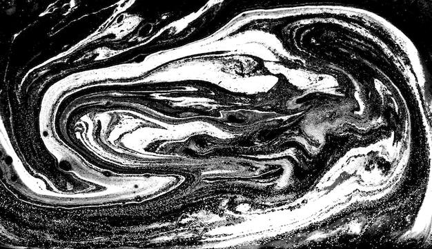 Monochroom abstract patroon. marmeren imitatie achtergrond.
