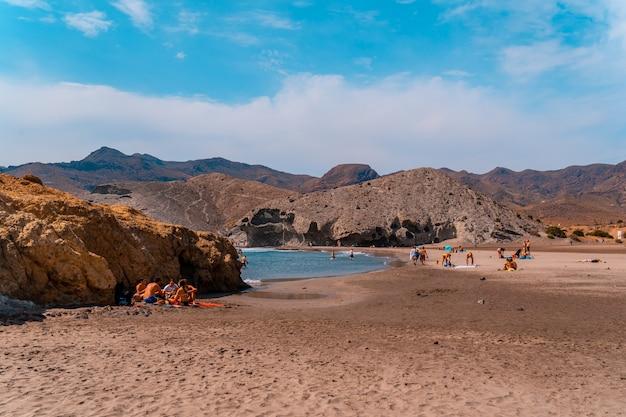 Monsul-strand in het natuurpark van cabo de gata