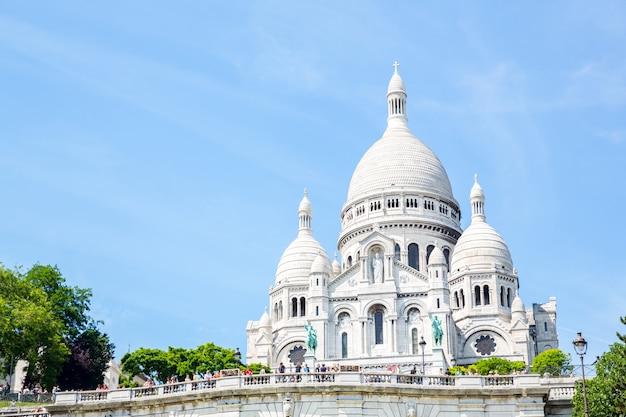 Montmartre parijs frankrijk.