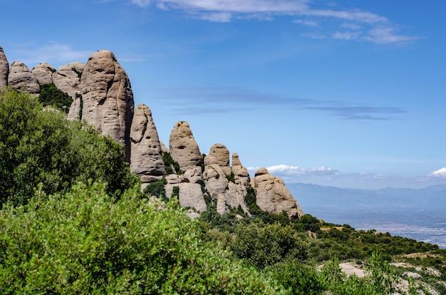 Montserrat berglandschap, barcelona